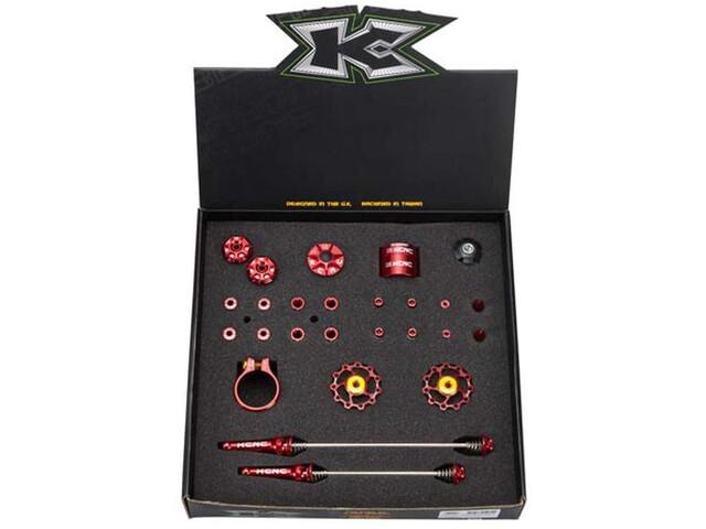 KCNC Tuning Kit Road rød | Stel og rammer